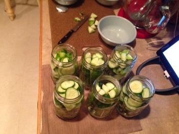 Adding Ingredients to Jars