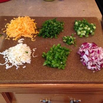 Leftover ingredients