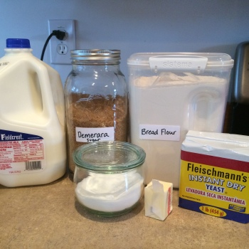 Sandwich Bread Ingredients