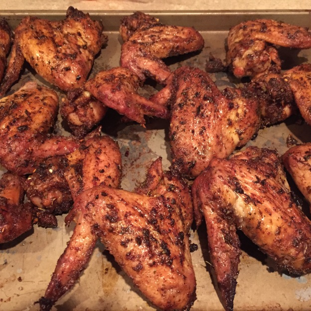 Smoked Wings - Wings done
